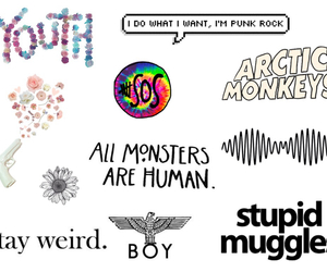 arctic monkeys, overlays, and Collage image
