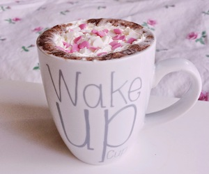 chocolate, cup, and morning image