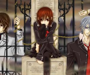 anime, vampire knight, and zero image