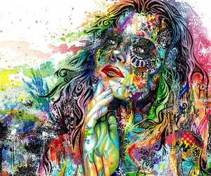 art, colors, and colorful image
