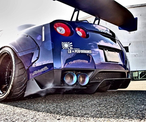 cars, super cars, and nissan gtr image