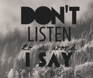 Lyrics, song, and of monsters and men image