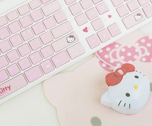 hello kitty, cute, and pink image