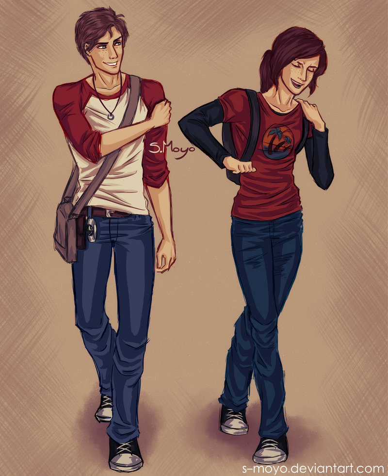 Nate And Ellie By S-Moyo On DeviantART On We Heart It