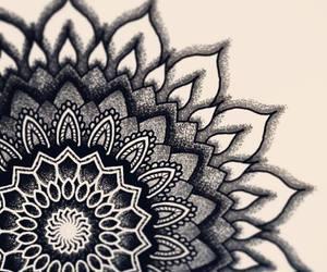 mandala, beautiful, and black image