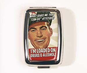 drinking, drugs, and pill box image