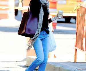 emma stone and jeans image