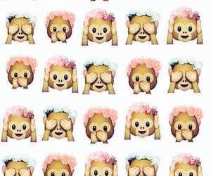 background, beautiful, and emoticons image