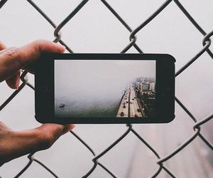 fog, grunge, and iphone image