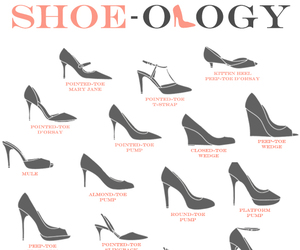 fashion, heels, and infographic image