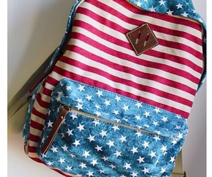 usa, bag, and backpack image