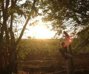 ballet, sun, and nature image