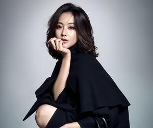 cape, black cape, and oh yeon seo image