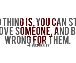love, quote, and elvis image