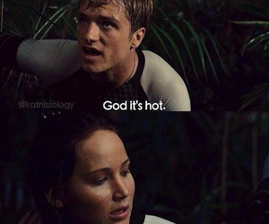 funny, Hot, and hunger games image