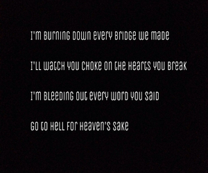 band, black and white, and bmth image