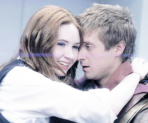 doctor who, otp, and amy pond image