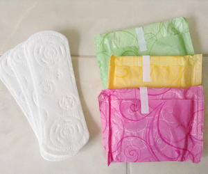 always, menstruation, and pads image