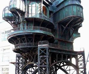 architecture and steampunk image