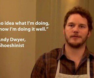 quote, parks and recreation, and chris pratt image