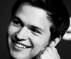ansel elgort, actor, and smile image