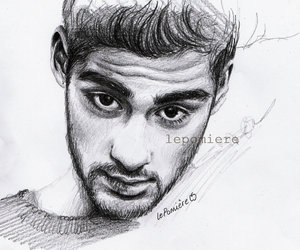 art, zayn, and zayn drawing image
