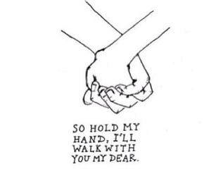 quotes, Lyrics, and hands image