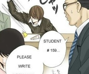 anime, deathnote, and lolz image