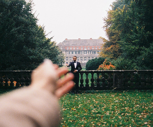 photography, autumn, and love image
