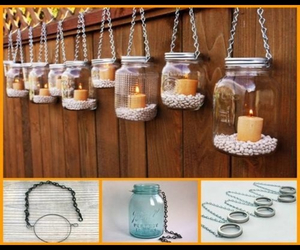 candles, decor, and diy image