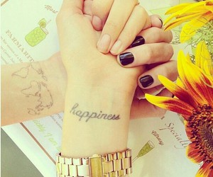 tattoo, happiness, and nails image