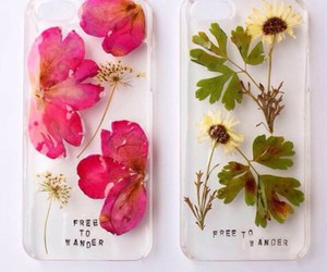 colour, floral, and phone cover image
