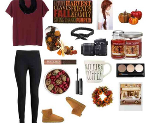 outfit, autumn, and black image