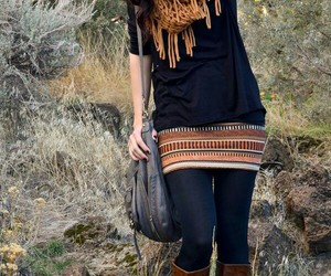 fashion girl, outfit, and clothes image