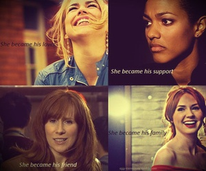 rose tyler, donna noble, and doctor who image