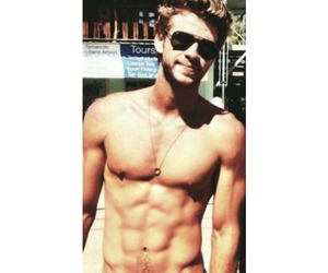 liam hemsworth, Hot, and abs image