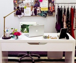 desk, office, and like image
