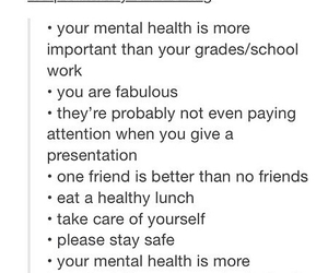health, mental, and school image