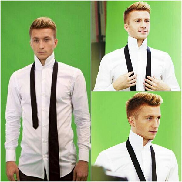 Marco Reus, Hugo Boss discovered by María on We Heart It