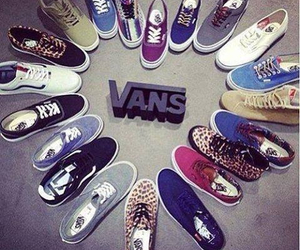 vans, shoes, and cool image