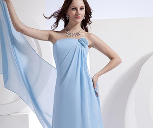 dress, bridesmaid dresses, and fashion image