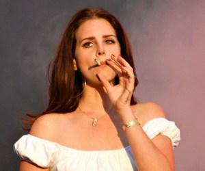 lana del rey, cigarette, and grunge image