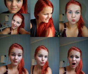 red hair, blogg.no, and haircolor image