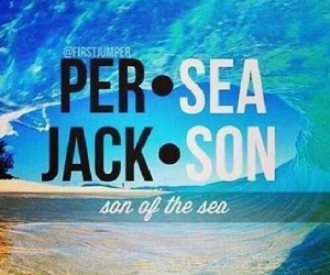 percy jackson, book, and sea image