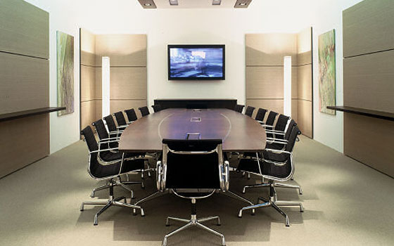 Furniture. The Conference Room Design Ideas In The Modern ...