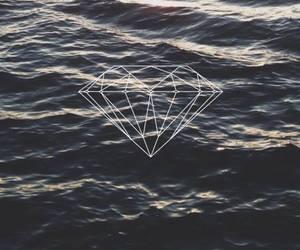 diamond and sea image