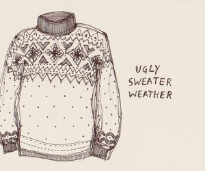 sweater, ugly, and weather image