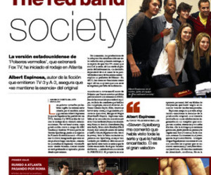 band, inspiring, and red image