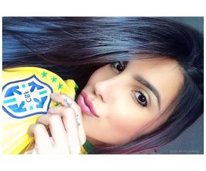 girl, latina, and sexy image