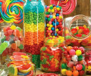 candy, colorful, and rainbow image